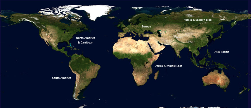 Find a Background Screening Company: INTERNATIONAL MAP