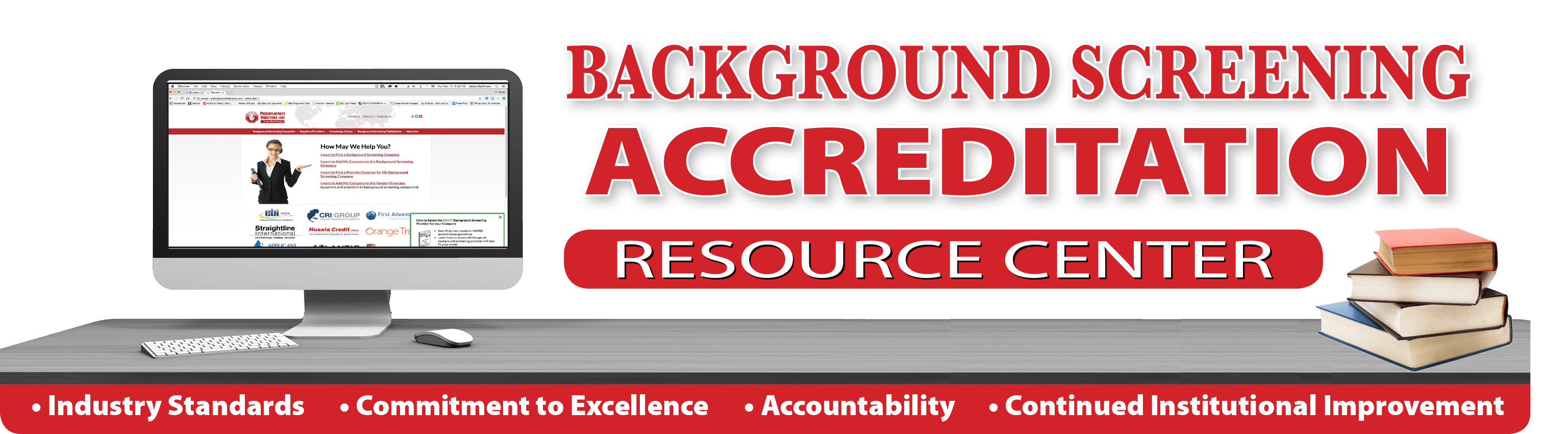 NAPBS background screening accredited companies