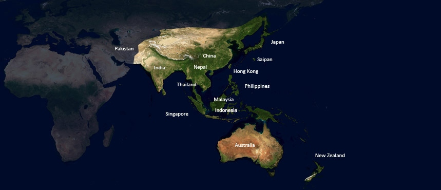 Find a Background Screening Company: ASIA-PACIFIC