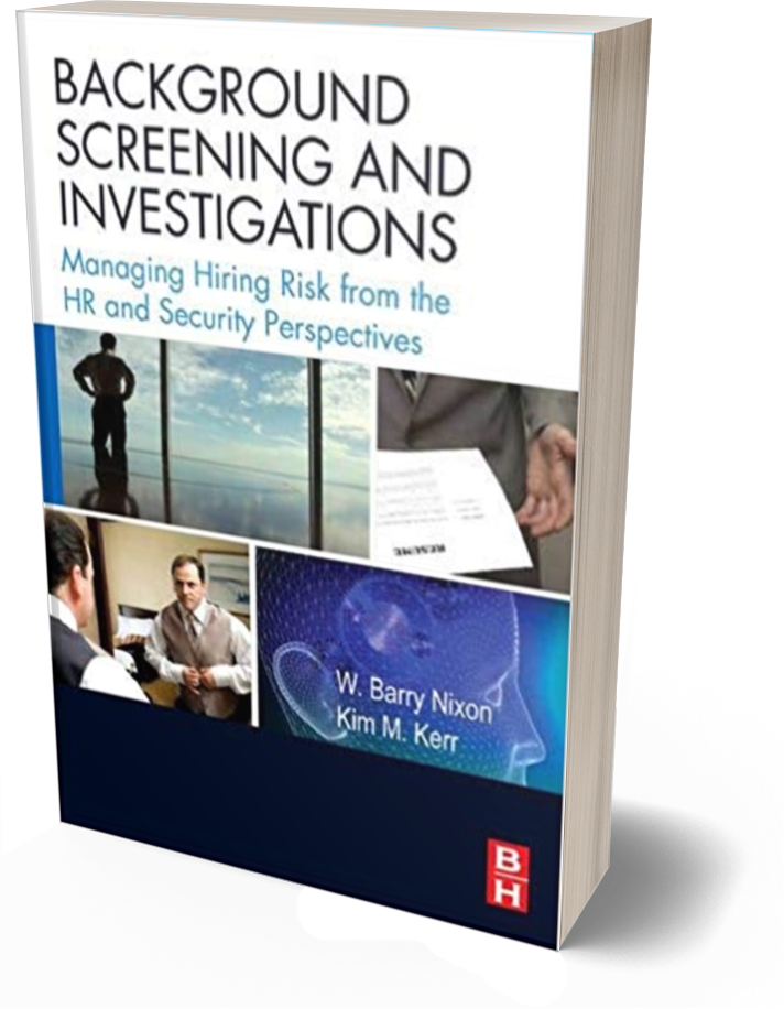 background screening and investigations bookcover