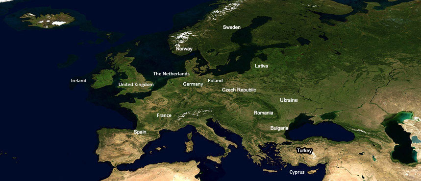 Find a Background Screening Company: EUROPE