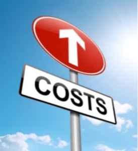 Costs Sign