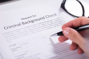 background check request