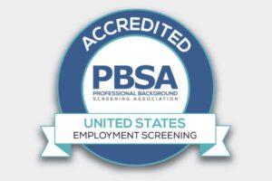 PBSA Acredditation badge