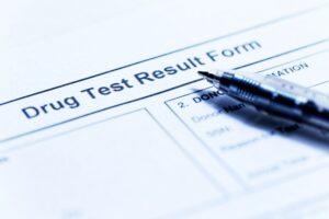 drug testing Deposit