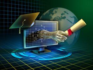 Digital Learning Ilustration